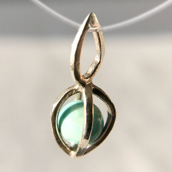 Gem Pod Turquoise Sterling Silver