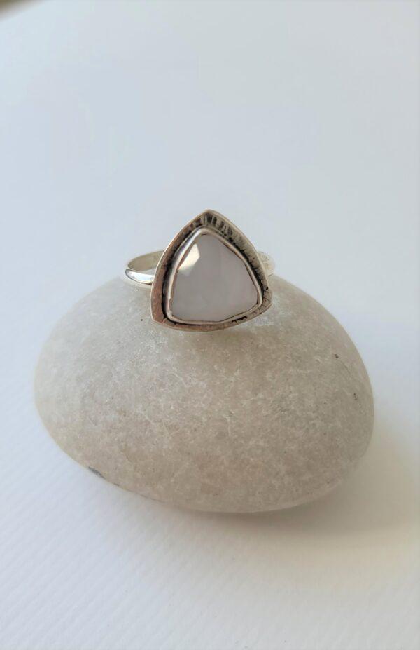 moonstone divine feminine ring