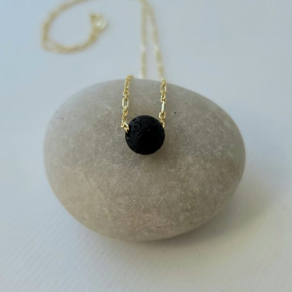 Essential Oil lava stone necklace and Goddess Oil Pack
