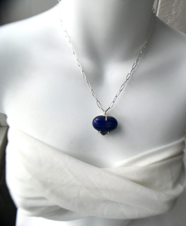 Forever My Heart Lapis Lazuli Sterling Necklace Kit