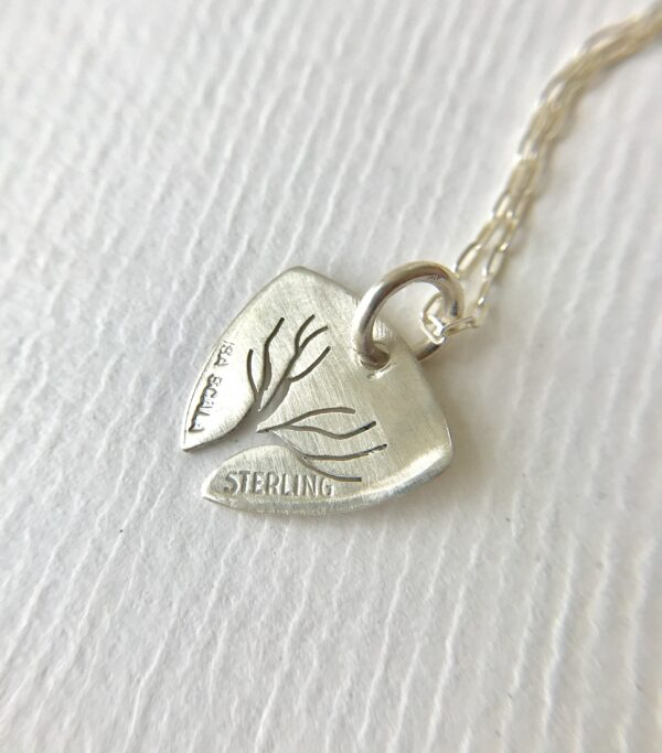 Tree of Life Charm Necklace - Sterling Silver