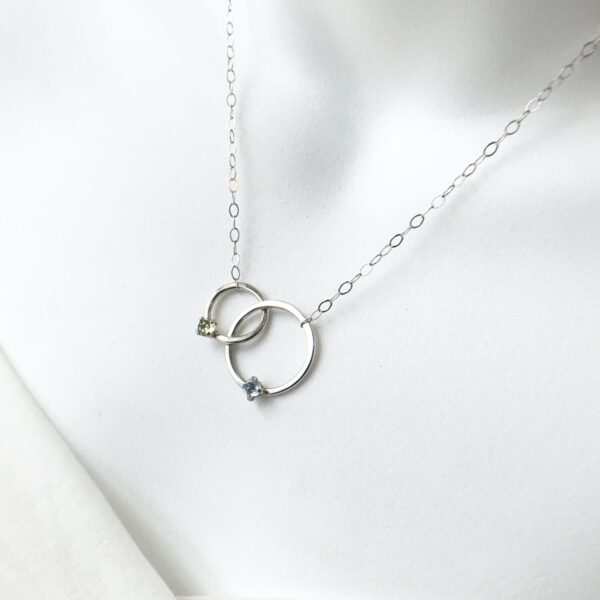Embrace Circle Necklace -Sterling