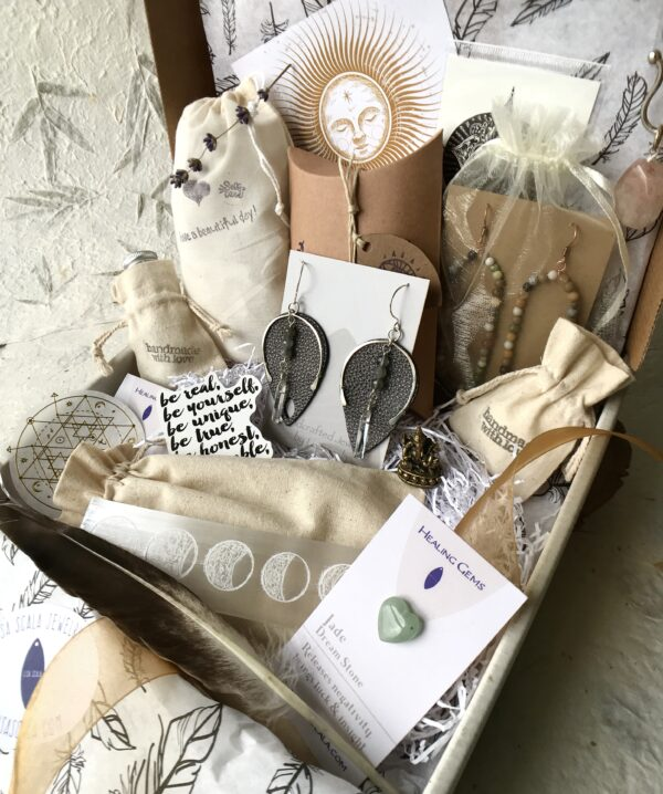 The Goddess Box Subscription - Exclusive, Handmade & High Quality