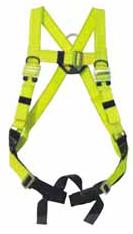 Reflective sub-pelvic strap