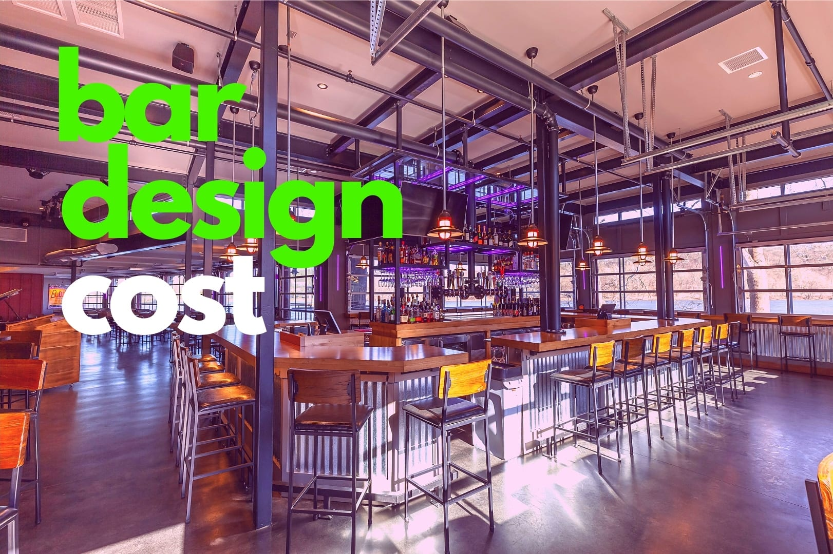 Bar Design Cost