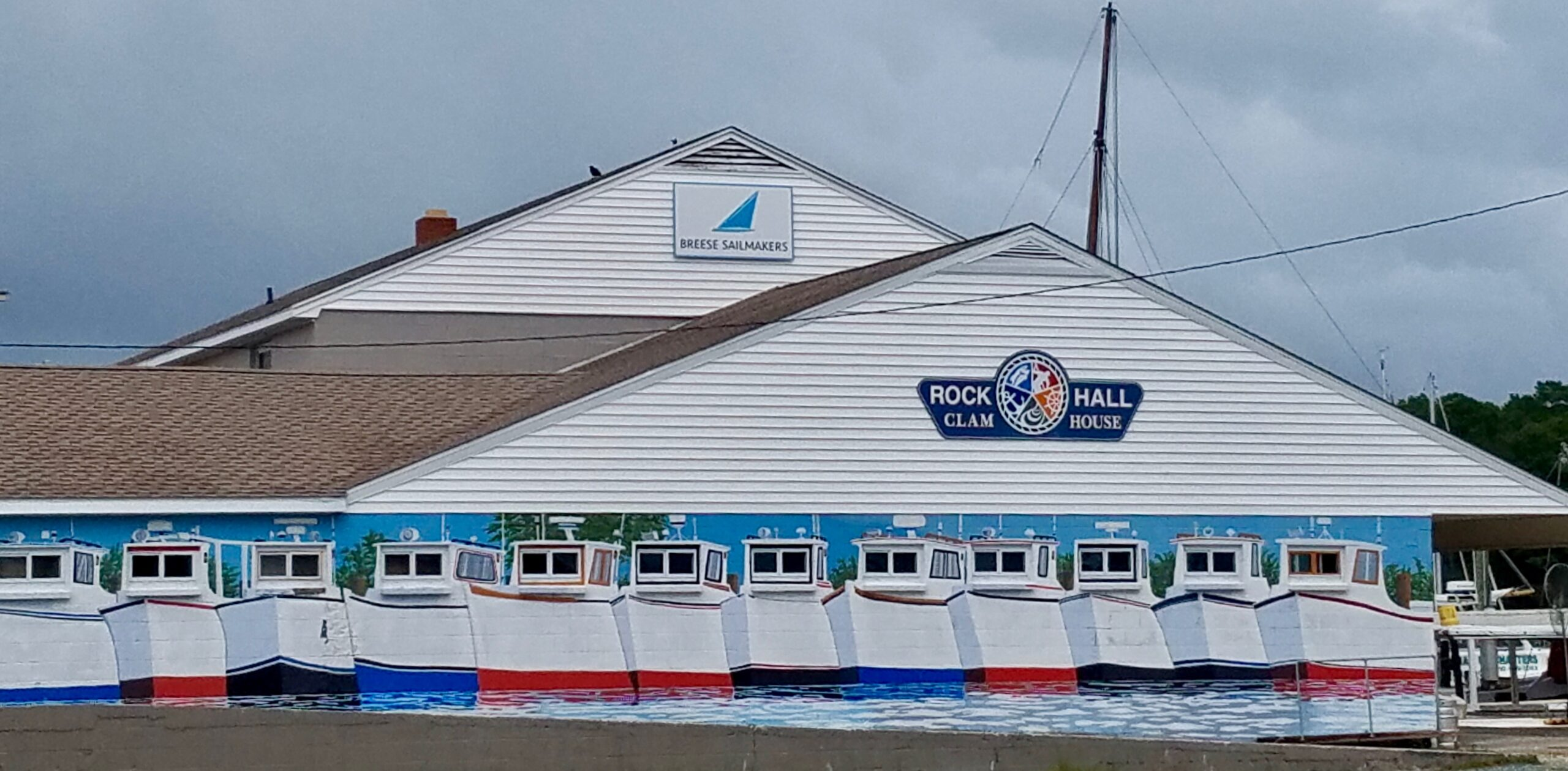 Breese Sailmakers at Rock Hall Clam House