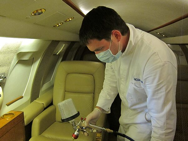 Protect your private plan with XTI-360 and make your plan disinfect itself.