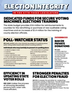 87th Election integrity