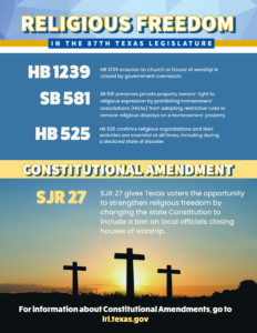 87th Session - Religious Freedom