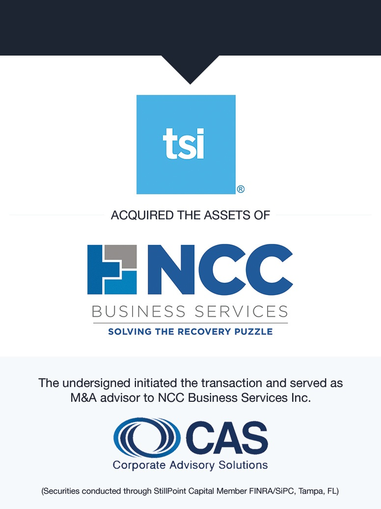 TSI Acquires NCC