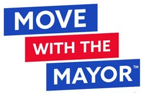 Move With the Mayor Logo