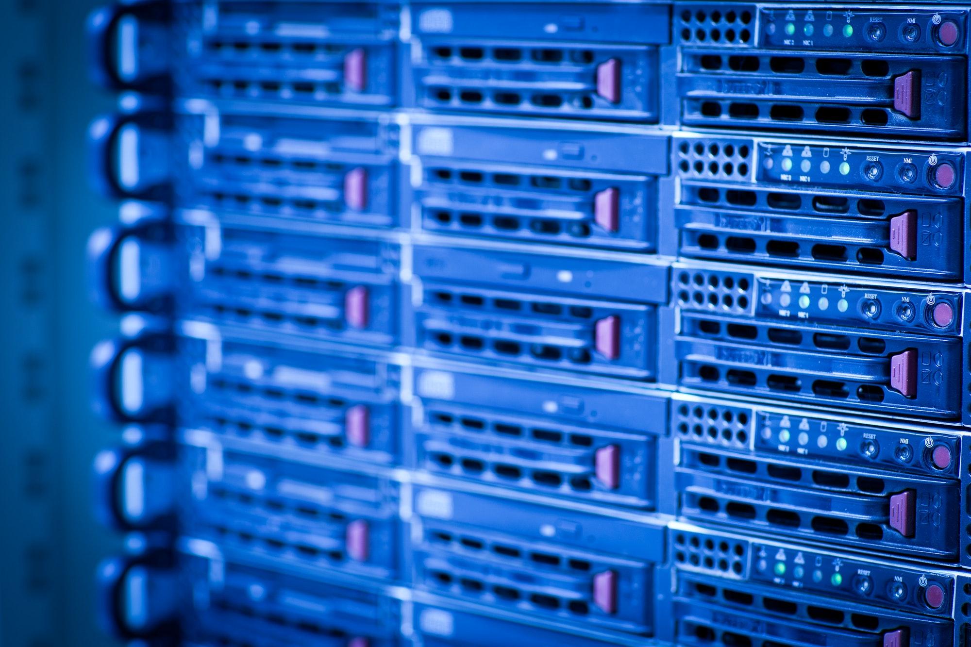Hébergement Web Centre de données