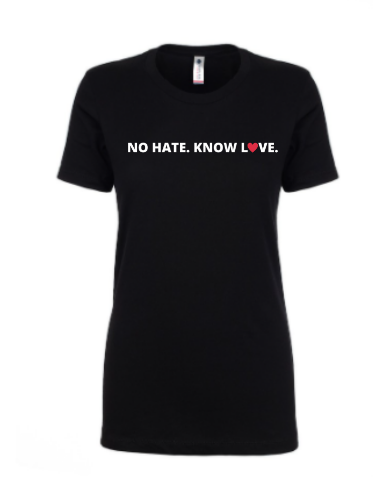 No Hate. Know Love.
