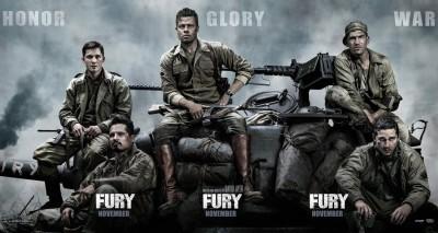 Fury Starring Brad Pitt; Directed by David Ayer