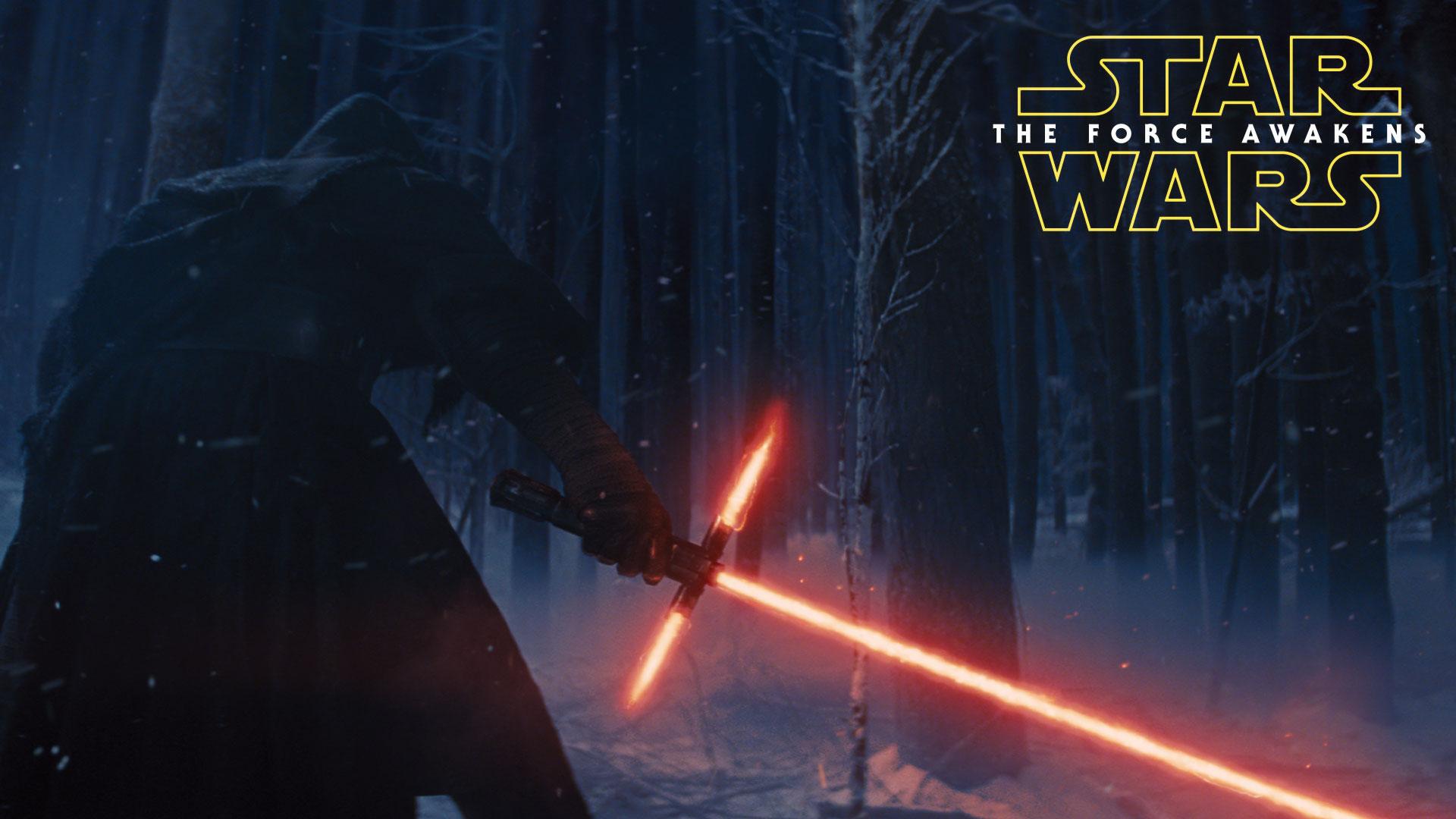 Force Awakens Movie Spoon Wall