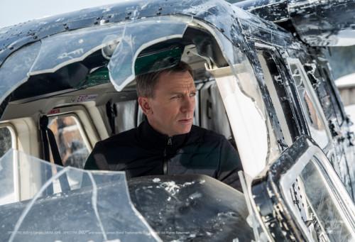 SPECTRE James Bond Helicopter Movie Spoon