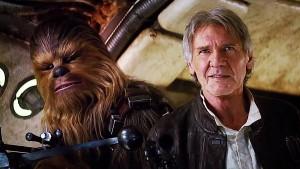 Still got it: Chewie & Han Solo