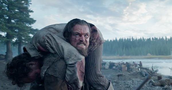 Leonardo DiCaprio Carries The Revenant