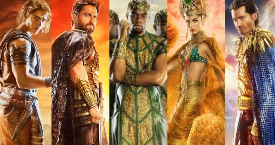 Gods of Egypt Cast