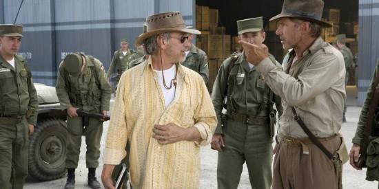 Harrison Ford Steven Spielberg Indiana Jones