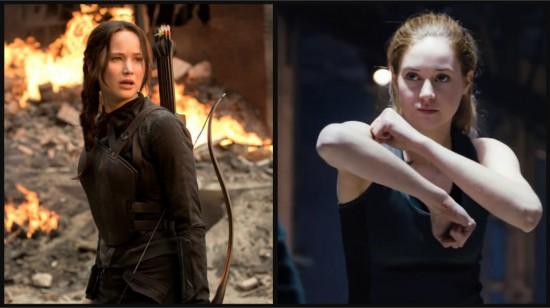 Katniss and Tris
