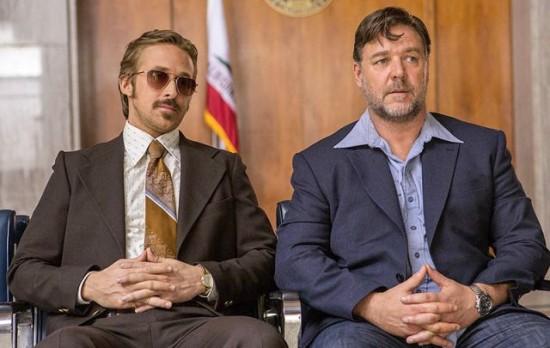 The Nice Guys Russell Crowe Ryan Gosling