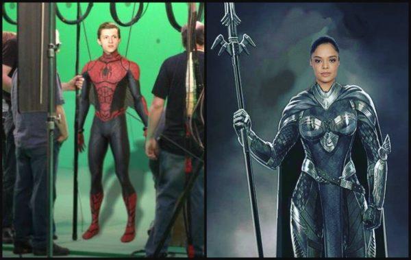 Thor: Ragnarok Spider-Man Valkyrie MovieSpoon.com