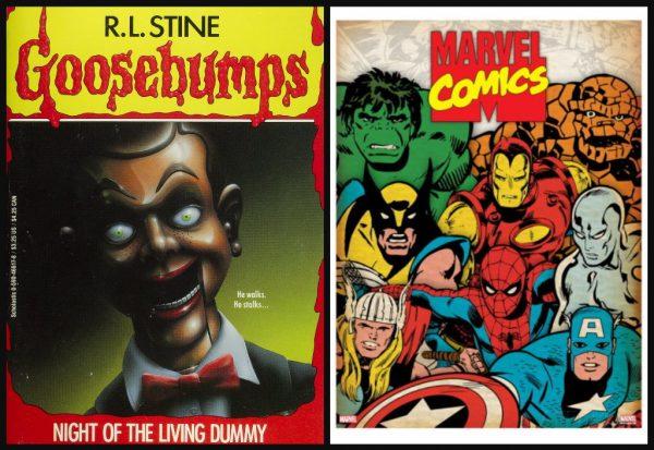 R.L. Stine Goosebumps Marvel Comics MovieSpoon.com