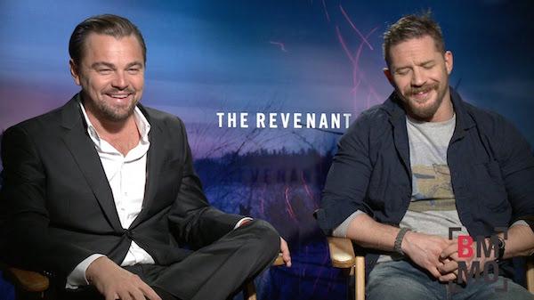 The Revenant Tom Hardy Leonardo DiCaprio Bet MovieSpoon.com