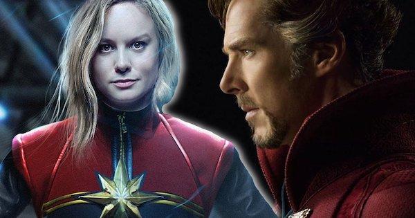 Captain Marvel Doctor Strange MovieSpoon.com
