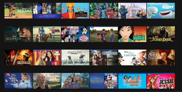 Disney Netflix Streaming MovieSpoon.com