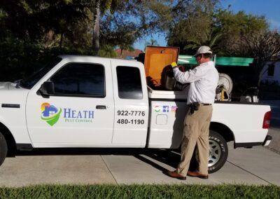 Pest control Heath Pest control truck