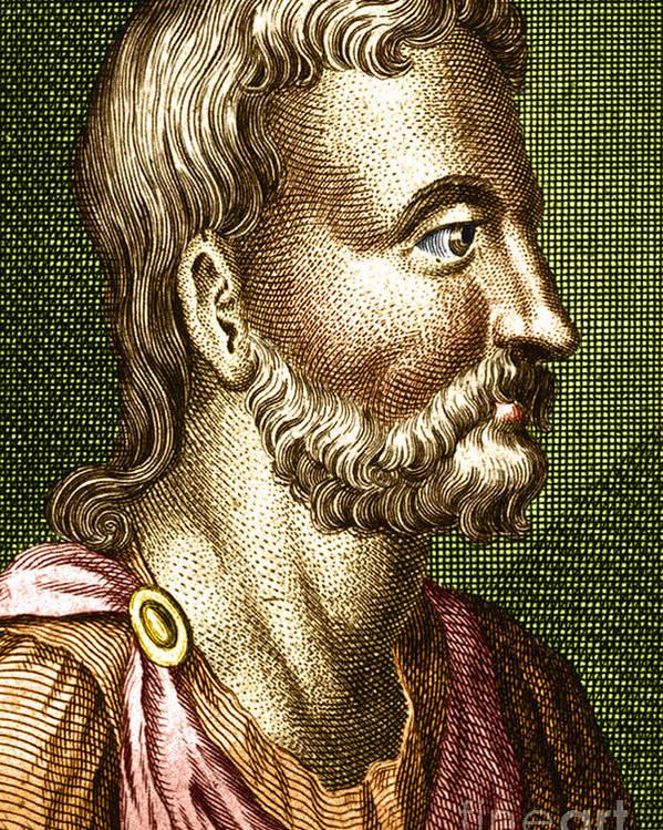 Portrait of Aulus Cornelius Celsus, Roman encyclopaedist  & physician