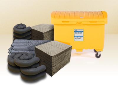 mobile cart spill kit