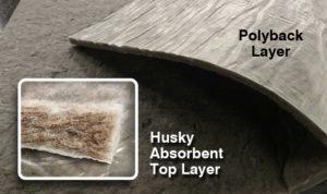 Husky Polyback Detail