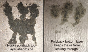 polyback contrast