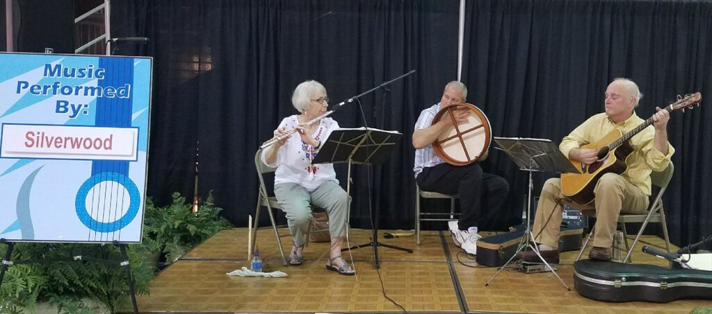 Flute, Irish drum, guitar