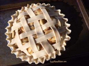 Cider Apple Pie