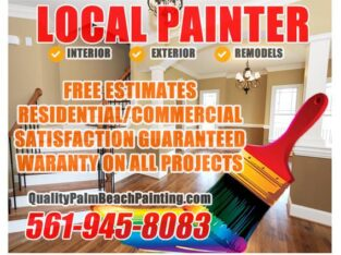 Painter and Home Repair services