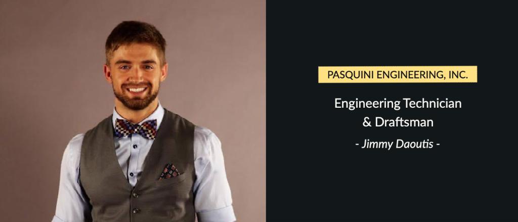 Jimmy Daoutis – Engineering Technician & Draftsman