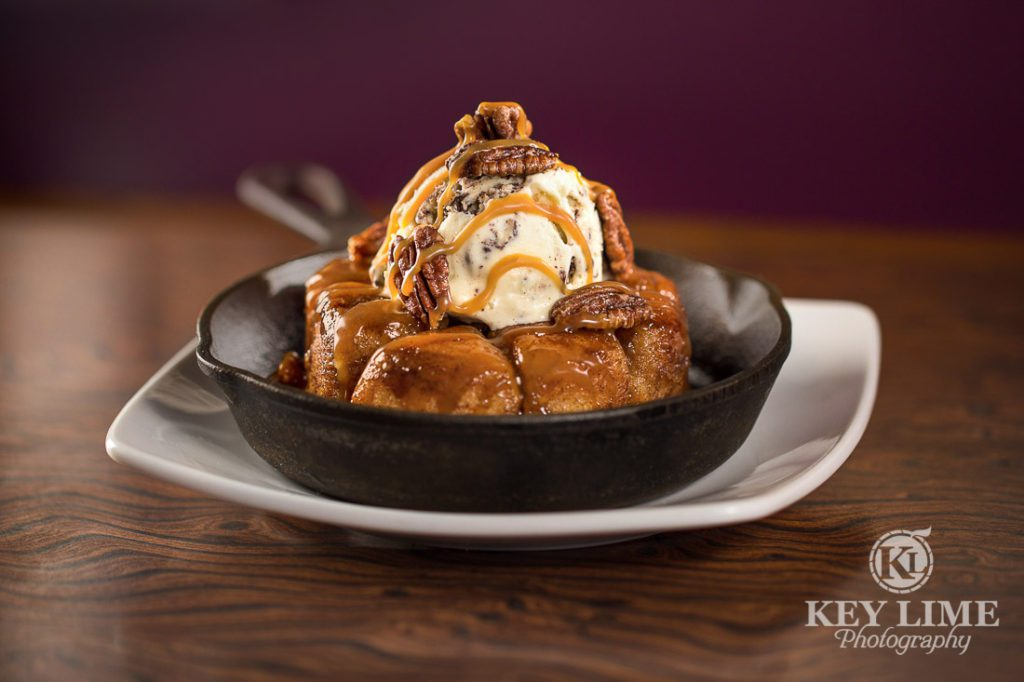 Food Photography Photo of Monkey Bread Skillet at Mr Lucky's at the Hard Rock Hotel and Casino Las Vegas