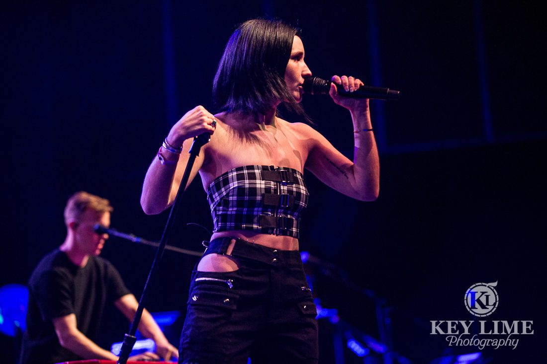 OBC photography of SHAED performing onstage at The Chelsea at Cosmopolitan in Las Vegas