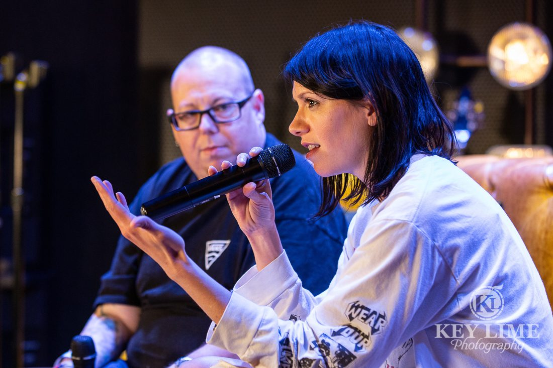 K.flay interview with Ross Mahoney aka Bossy Rossy in Las Vegas