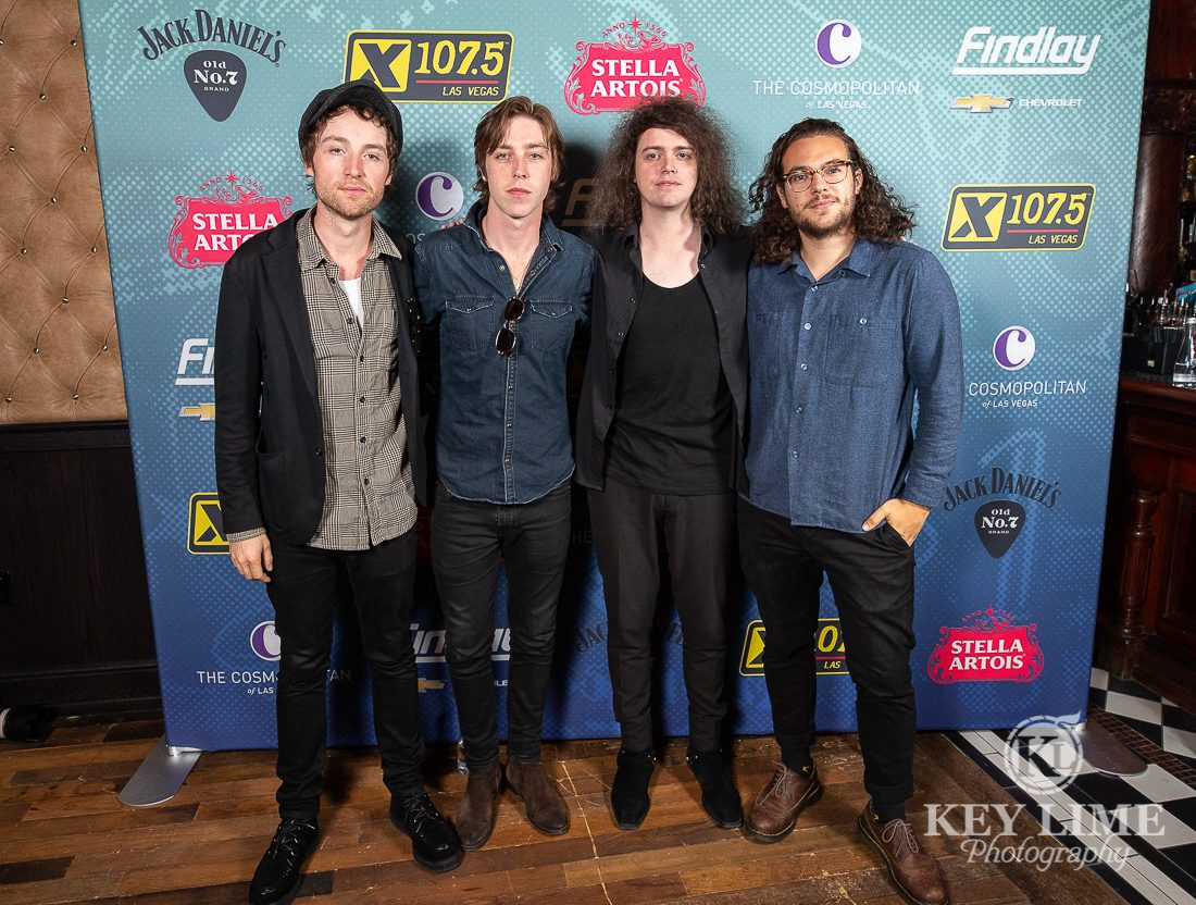 X107.5 meet and greet with Catfish and the Bottlemen