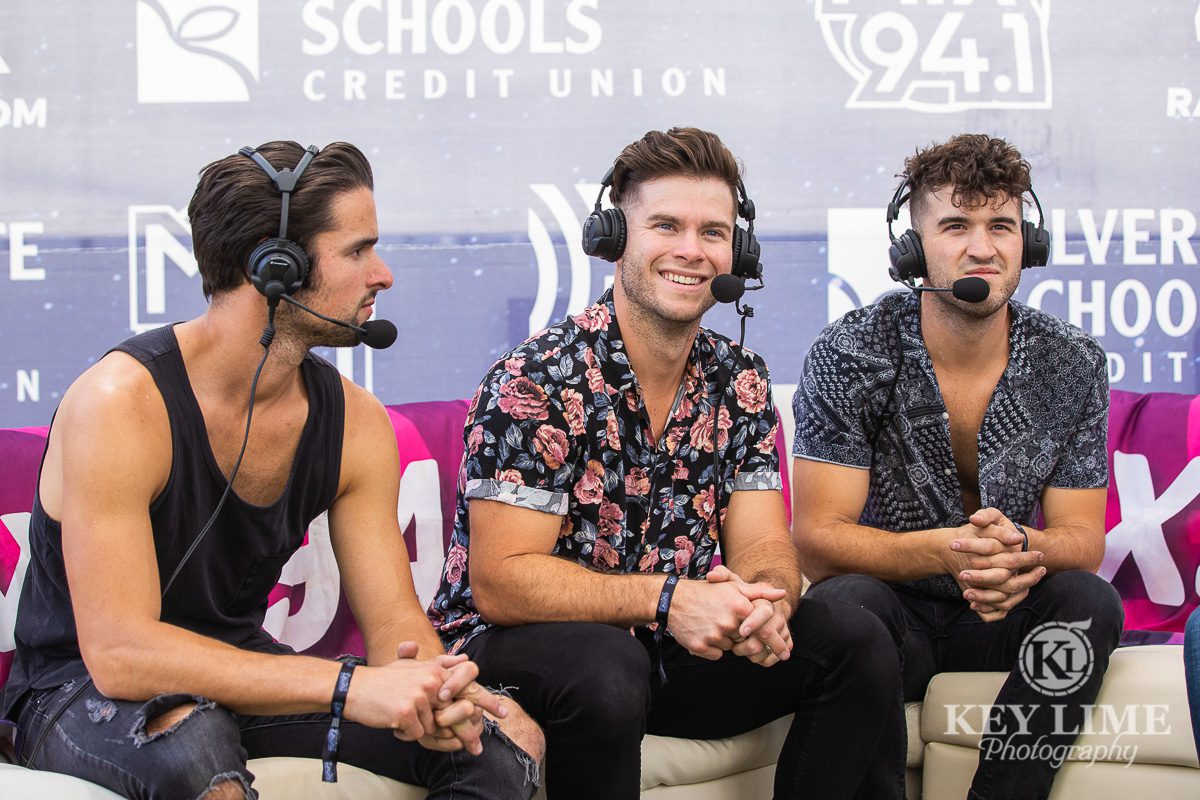 OBB interview, event photo from Bite of Las Vegas