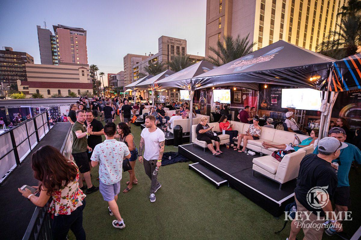 VIP cabanas, bite of las vegas, food festival and concert