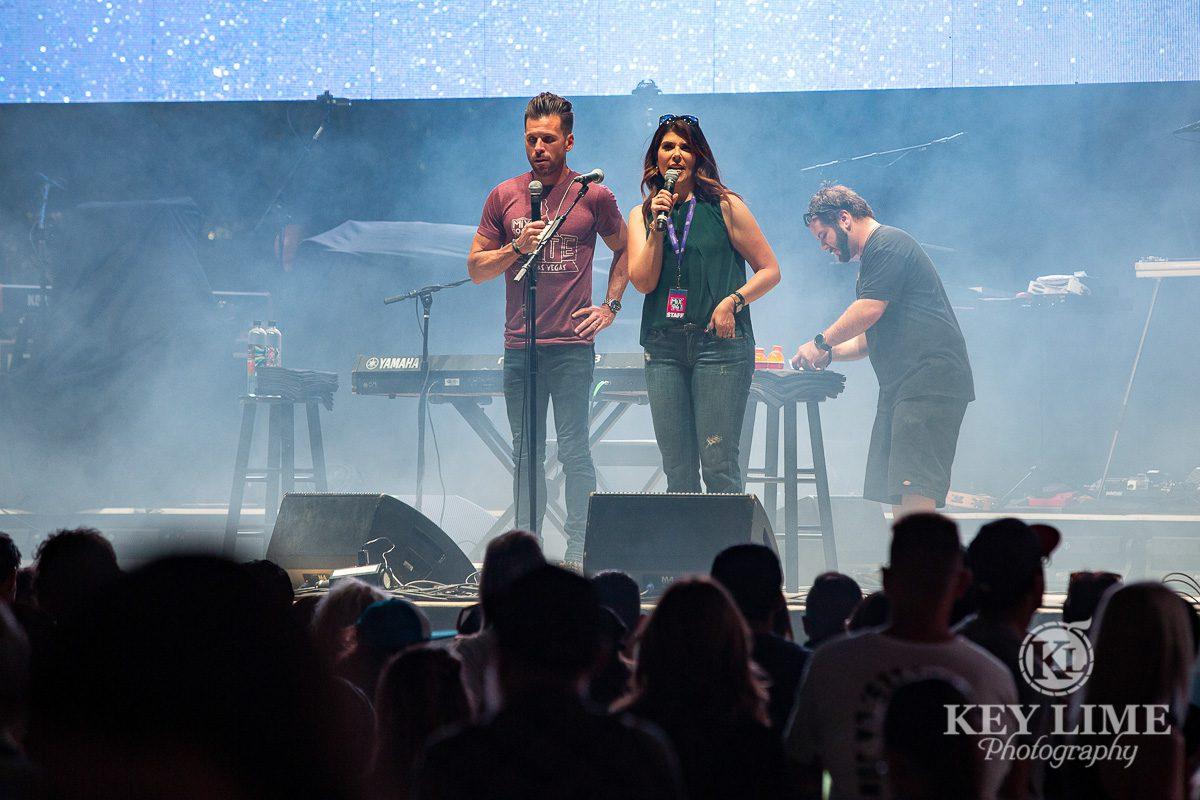 event photography photo, Radio DJs onstage Bite of Las Vegas