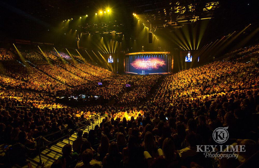 Venue photo, MGM Grand Garden arena full of guests