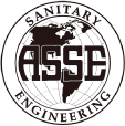 asse black and white logo