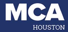 mca houston blue and white logo